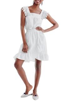 J.Crew Linen Ruffle Skirt (Regular & Petite)