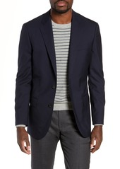 J.Crew Ludlow Trim Fit Solid Wool Blazer