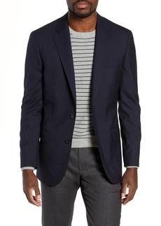 J.Crew Ludlow Trim Fit Solid Wool Blazer