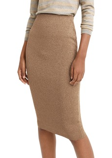 J.Crew Lurex® Sweater Tube Skirt