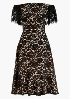 J.Crew Marshmallow Lace Off the Shoulder Dress (Regular & Petite)