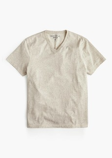 J.Crew Mercantile Broken-in heather V-neck T-shirt