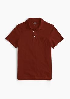Slim J.Crew Mercantile Broken-in pocket polo shirt