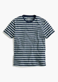 J.Crew Mercantile Broken-in T-shirt in navy stripe