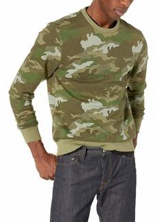 J.Crew Mercantile Men's Cotton Crewneck Camo Sweatshirt Olive L