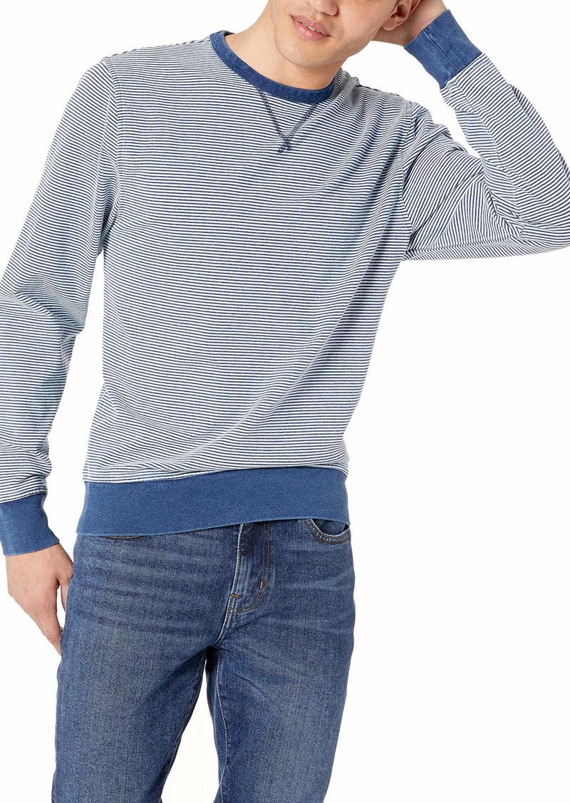 J.Crew Mercantile Men's Cotton Crewneck Striped Sweatshirt  L