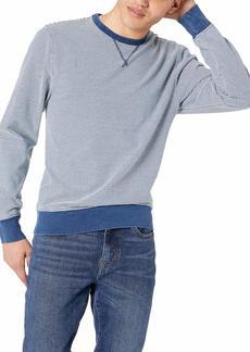 J.Crew Mercantile Men's Cotton Crewneck Striped Sweatshirt  XL
