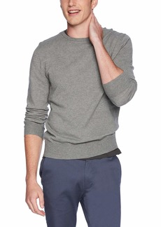 J.Crew Mercantile Men's Cotton Pique Textured Crewneck Sweater  M