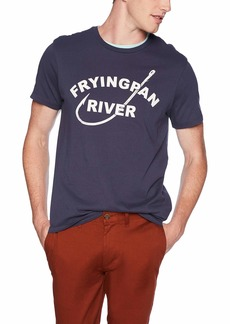 J.Crew Mercantile Men's Frying Pan Fishing Graphic T-Shirt  L