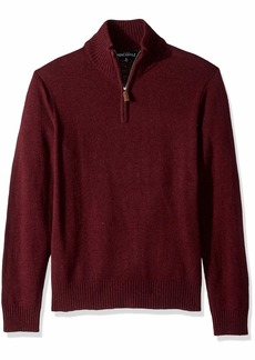 J.Crew Mercantile Men's Lambswool-Nylon Half Zip Sweater  S