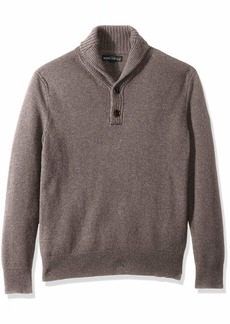 J.Crew Mercantile Men's Lambswool Nylon Shawl Collar Sweater  L