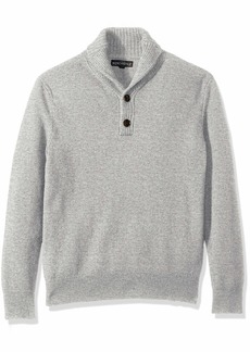 J.Crew Mercantile Men's Lambswool-Nylon Shawl Collar Sweater  S