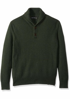 J.Crew Mercantile Men's Lambswool Nylon Shawl Collar Sweater  XS