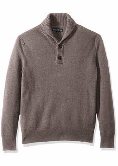 J.Crew Mercantile Men's Lambswool Nylon Shawl Collar Sweater  XS
