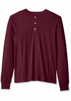 J.Crew Mercantile Men's Long-Sleeve Cotton Slub Henley  L