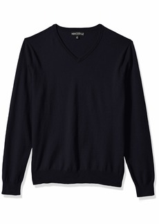 J.Crew Mercantile Men's Long-Sleeve Cotton V-Neck Sweater  S
