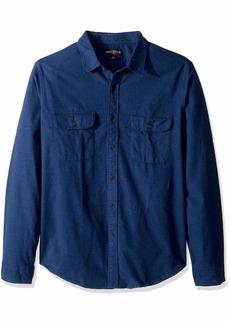 J.Crew Mercantile Men's Long-Sleeve Elbow Patch Shirt  XS