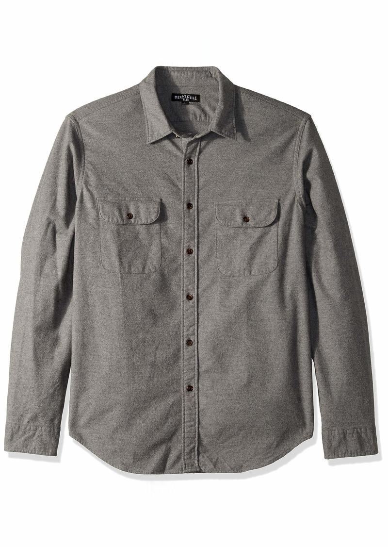 J.Crew Mercantile Men's Long-Sleeve Elbow Patch Shirt  S