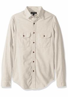 J.Crew Mercantile Men's Long-Sleeve Elbow Patch Shirt  XXL