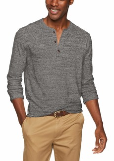 J.Crew Mercantile Men's Long-Sleeve Henley Shirt  M