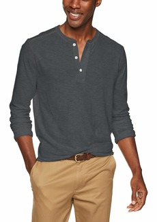 J.Crew Mercantile Men's Long-Sleeve Henley Shirt  XS