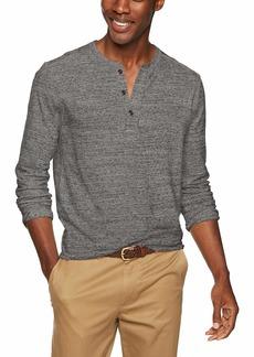 J.Crew Mercantile Men's Long-Sleeve Henley Shirt  XS