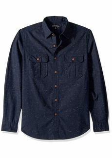 J.Crew Mercantile Men's Long-Sleeve Tweed Workshirt  M