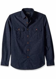 J.Crew Mercantile Men's Long-Sleeve Tweed Workshirt  XS