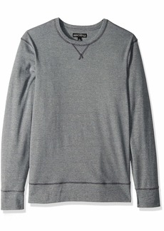 J.Crew Mercantile Men's Long-Sleeve Twisted Rib Crewneck T-Shirt  XS