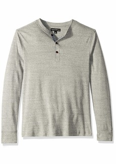 J.Crew Mercantile Men's Long Sleeve Twisted Rib Henley  M
