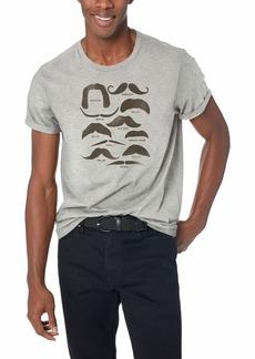 J.Crew Mercantile Men's Mustache Graphic T-Shirt  L