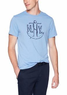 J.Crew Mercantile Men's NY Anchor Graphic T-Shirt  M