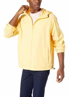 J.Crew Mercantile Men's Packable Rain Jacket  L