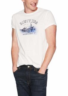 J.Crew Mercantile Men's Rusty Jib Fishing Graphic T-Shirt  XL