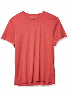 J.Crew Mercantile Men's Short Sleeve Heathered T-Shirt Old RED XL