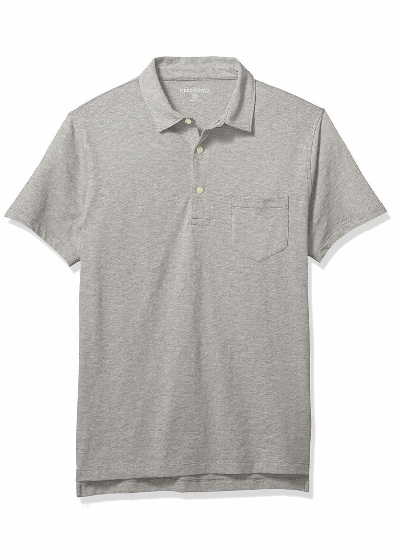 J.Crew Mercantile Men's Short Sleeve Polo Shirt  S