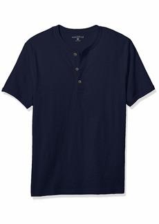 J.Crew Mercantile Men's Short-Sleeve Slub Cotton Henley  L