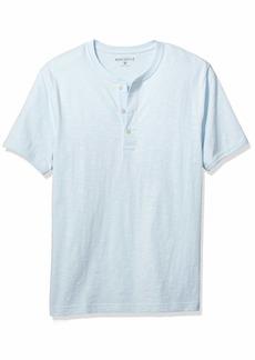 J.Crew Mercantile Men's Short-Sleeve Slub Cotton Henley  M