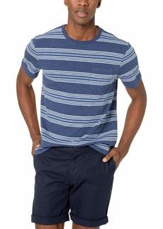 J.Crew Mercantile Men's Short-Sleeve Wide Striped Crewneck T-Shirt MIG M
