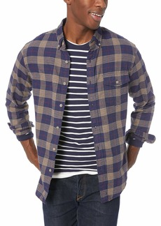 J.Crew Mercantile Men's Slim-Fit Long-Sleeve Brushed Twill Shirt  S