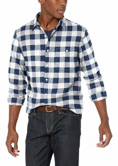 J.Crew Mercantile Men's Slim-Fit Long-Sleeve Buffalo Check Flannel Shirt  M
