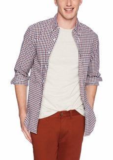 J.Crew Mercantile Men's Slim-Fit Long-Sleeve Gingham Shirt  L