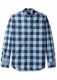 J.Crew Mercantile Men's Slim-Fit Long-Sleeve Gingham Shirt  S