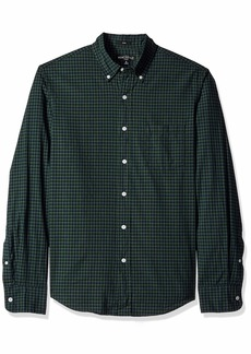 J.Crew Mercantile Men's Slim-Fit Long-Sleeve Gingham Shirt  XS