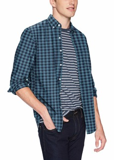 J.Crew Mercantile Men's Slim-Fit Long-Sleeve Gingham Shirt  XS
