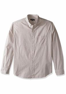 J.Crew Mercantile Men's Slim-Fit Long-Sleeve Oxford Tattersall Shirt  S