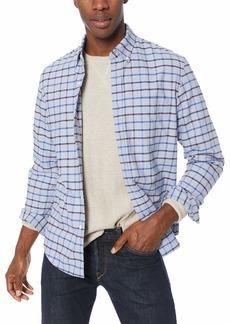J.Crew Mercantile Men's Slim-Fit Long-Sleeve Oxford Tattersall Shirt  XL