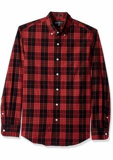 J.Crew Mercantile Men's Slim-Fit Long-Sleeve Plaid Shirt  L