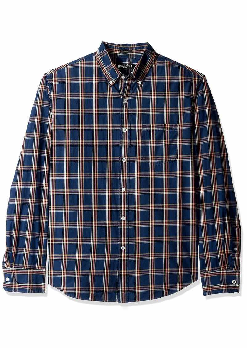 J.Crew Mercantile Men's Slim-Fit Long-Sleeve Shirt  XL