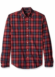 J.Crew Mercantile Men's Slim-Fit Long-Sleeve Plaid Shirt  S